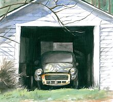 Morris In The Shed by Anthony Billings