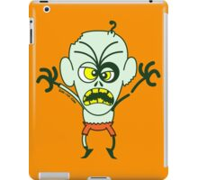 Scary Halloween Zombie Emoticon iPad Case/Skin