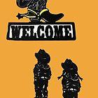 Western Welcome II by Al Bourassa