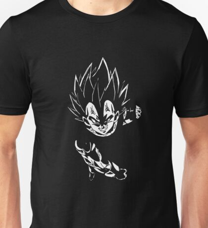 Majin Vegeta Shadow Unisex T-Shirt