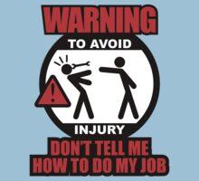 WARNING! TO AVOID INJURY (1) Kids Clothes
