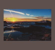 Godrevy lighthouse at sunset  Kids Clothes
