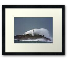 Godrevy Lighthouse Framed Print