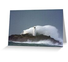 Godrevy Lighthouse Greeting Card