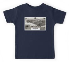 Newport News-Virginia-1891 Kids Tee