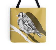 goldfinch shadow Tote Bag