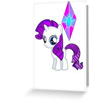 Special Destiny - Rarity Filly Greeting Card