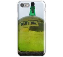 Green Bottle with a reflection iPhone Case/Skin
