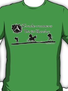 ArcheAge Trader Runners do it slowly T-Shirt