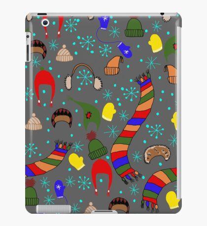 Winter clothing iPad Case/Skin