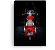 Royal Enfield Crusader Airflow Earls Court Show Model Canvas Print