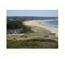Taylor Swift's View of east beach watch hill, ri -  Art Print