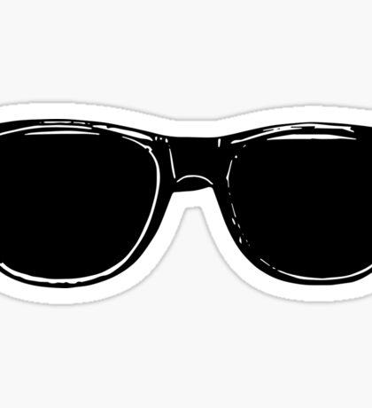 Vlogger shades Sticker