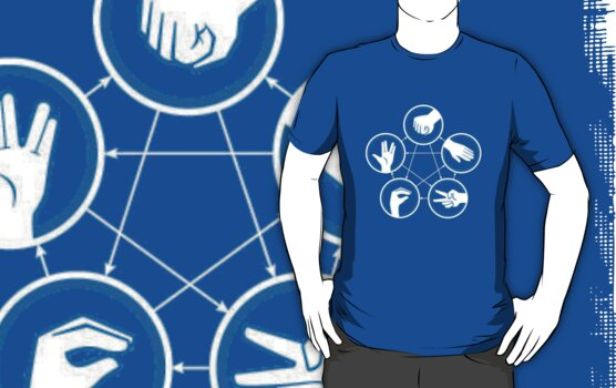 Rock Paper Scissors Lizard Spock by haqstar