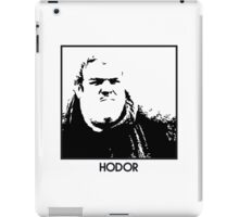 Hodor Inspired Artwork 'Game of Thrones' iPad Case/Skin