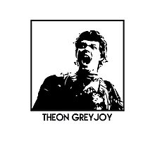 Theon Greyjoy Inspired Artwork 'Game of Thrones' Photographic Print