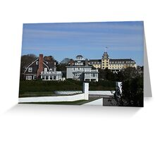 watch hill, view from Taylor Swifts house Greeting Card
