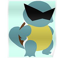 Squirtle Squad Minimalist Poster