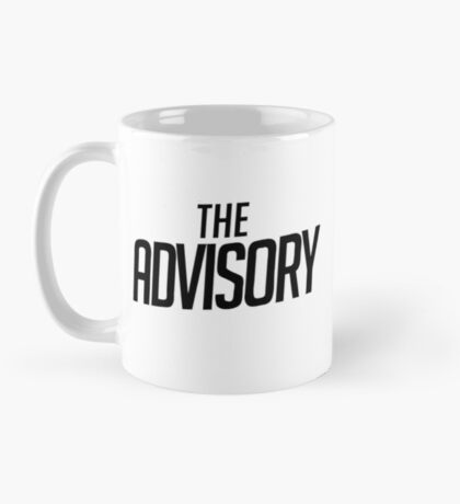 The Advisory Podcast Text Mug Mug