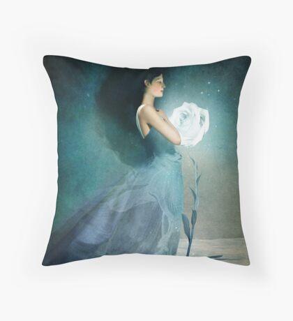 Ice Princess Throw Pillow