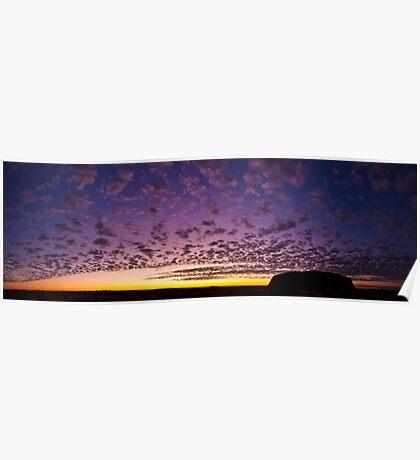 Uluru Dawn Poster