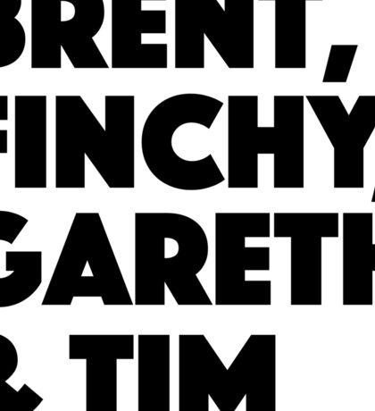 The Office UK David Brent Sticker