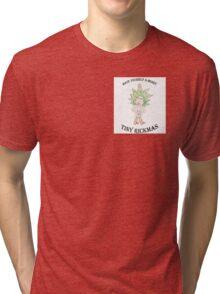 Tiny Rickmas 2 Tri-blend T-Shirt
