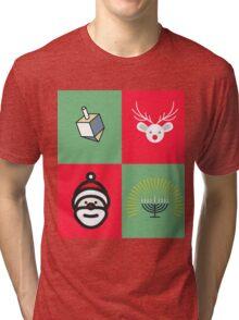 Chrismukkah Tri-blend T-Shirt