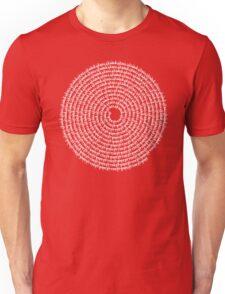 SPIRAL MALA - 108 HARE KRISHNA HARE RAM MANTRA T-Shirt