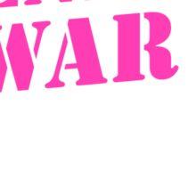 End the War on Myraq Sticker