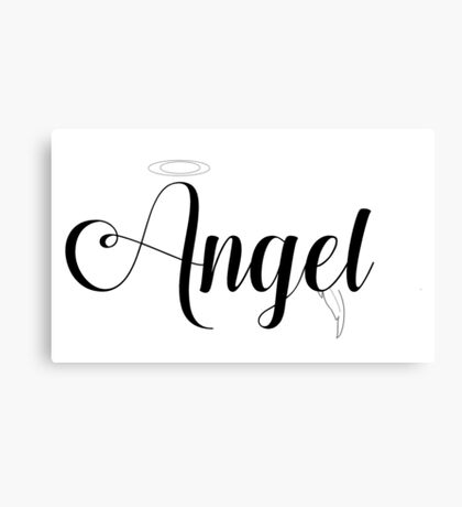Angel Themed Canvas Print