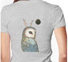 Tree Spirit Womens Fitted T-Shirt