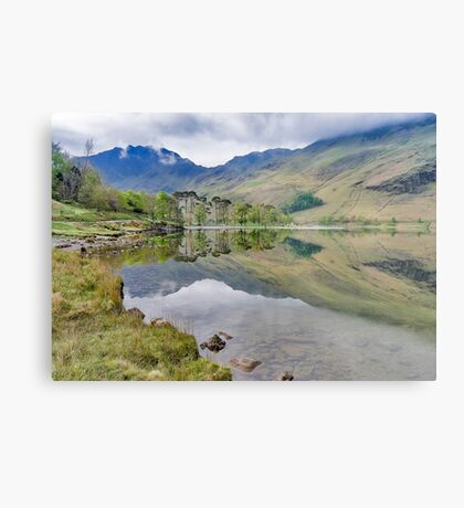 Buttermere Reflections Metal Print