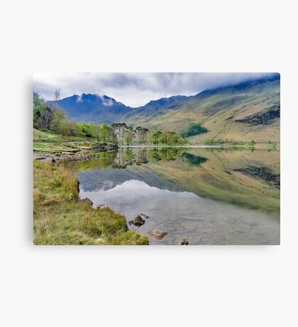 Buttermere Reflections Canvas Print
