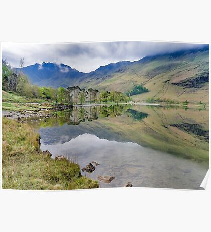 Buttermere Reflections Poster