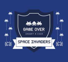 Space Invaders by strangebird2014