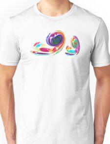 Fractal - Snail Family Unisex T-Shirt