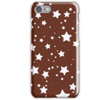 Pan di stelle biscuit theme iPhone Case/Skin