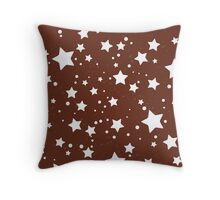 Pan di stelle biscuit theme Throw Pillow