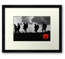 Poppy Appeal 2014 Framed Print
