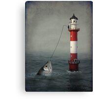 The Big Catch Canvas Print