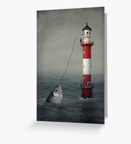 The Big Catch Greeting Card