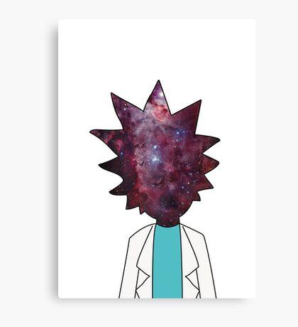 Rick mind Canvas Print