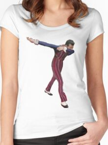robbie rotten Women's Fitted Scoop T-Shirt