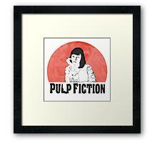 Pulp Framed Print
