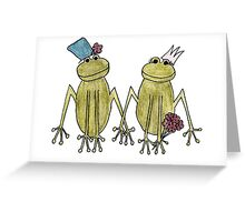 Side by Side, Hand in Hand Greeting Card