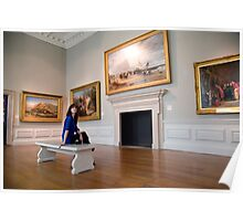 A day out in Greenwich - British Maritime Paintings Poster