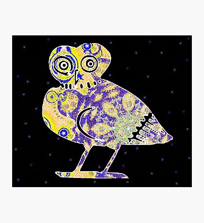 GREEK OWL Photographic Print