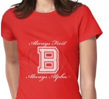 Always First - Always Alpha Womens Fitted T-Shirt
