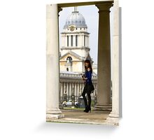 A day out in Greenwich -  Greeting Card
